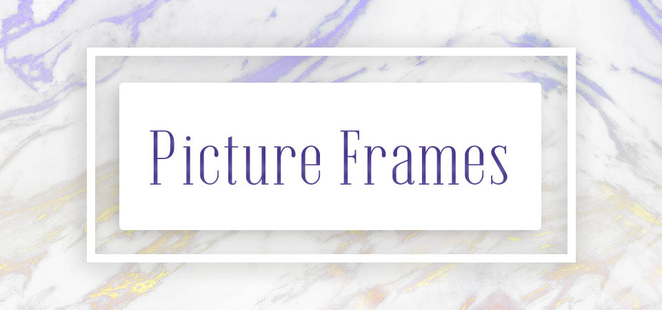 Picture Frames (gifts)
