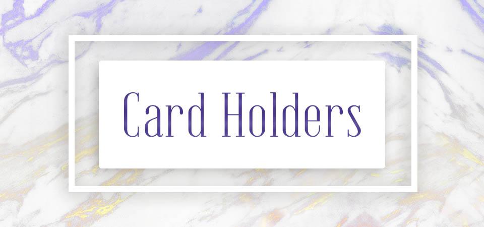 Card Holders (home decor)