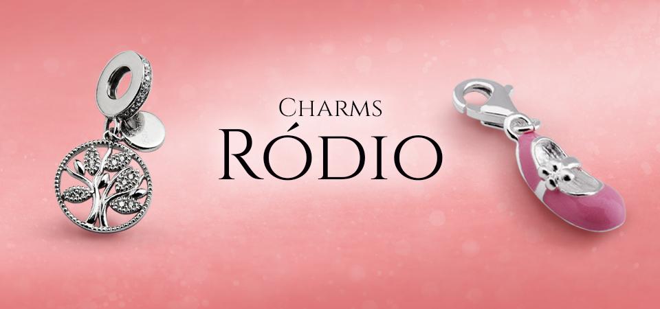 Charms Ródio