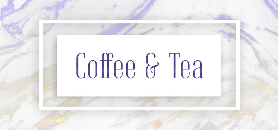 Coffee & Tea (home decor)
