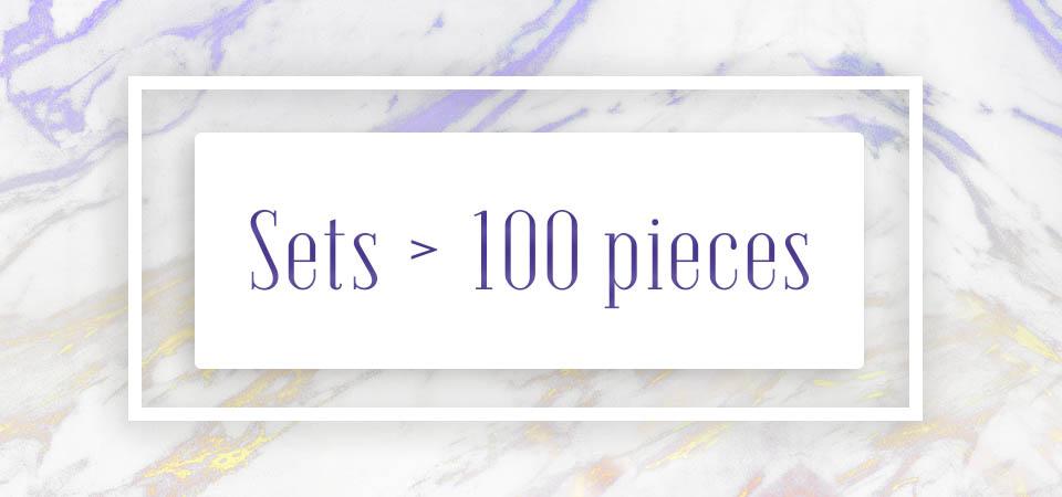 Sets > 100 pieces