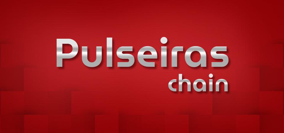 Pulseiras chain