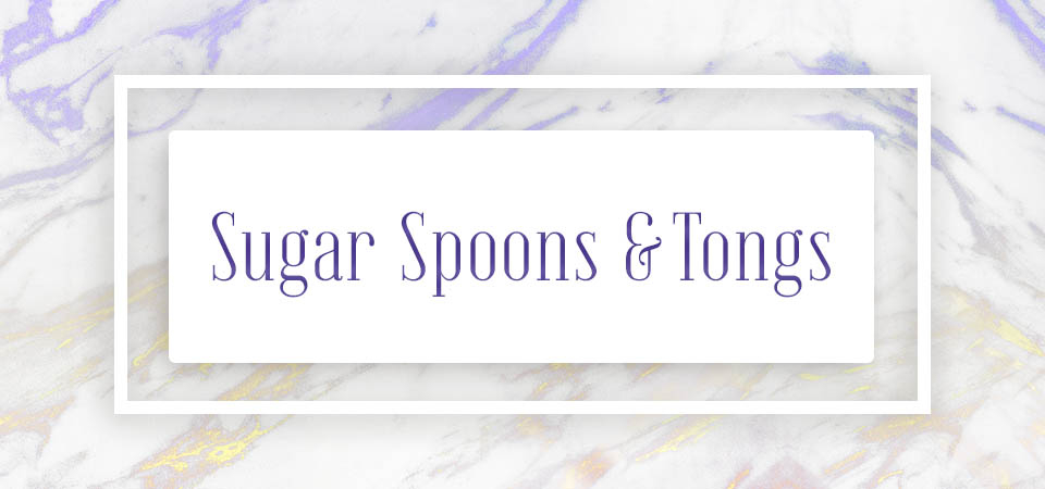 Sugar Spoons & Tongs