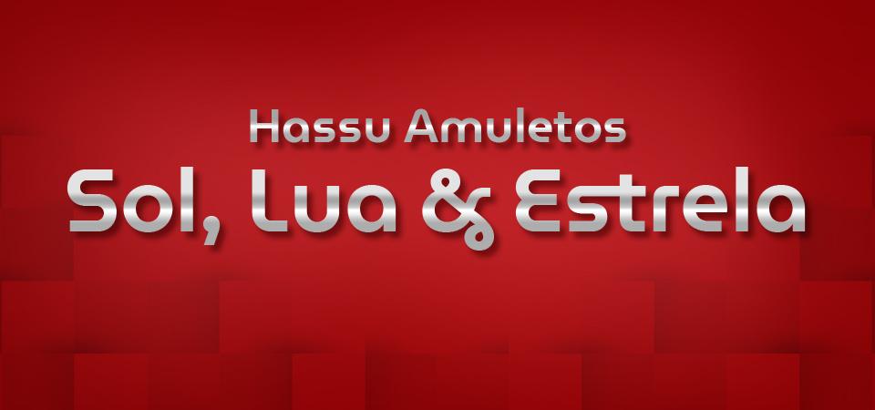 Hassu Amuletos - sol, lua & estrela